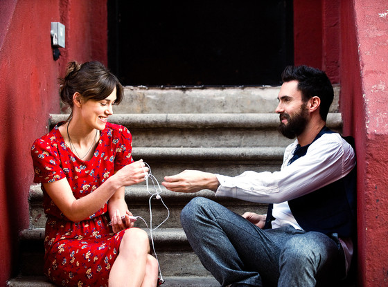 Begin Again, Adam Levine, Keira Knightley